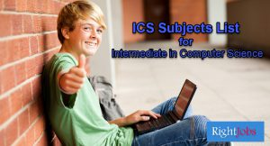 ICS Subjects List for Part 1/2 Compulsory and Elective
