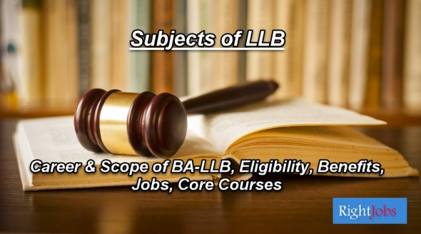 Subjects of LLB in Pakistan, Eligibility Criteria, Scope & Career