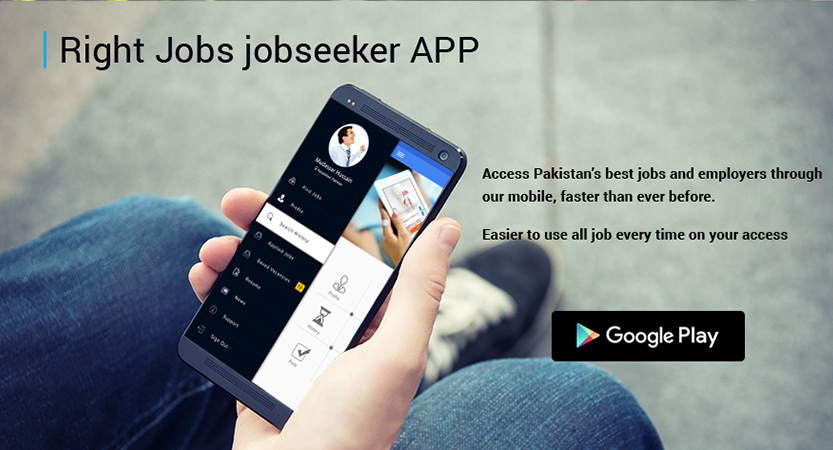 RIGHTJOBS.pk App For Job Seekers