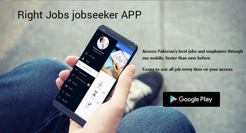 RIGHTJOBS.pk App For Job Seekers