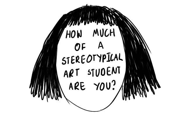 Stereyotypes about art and art students.